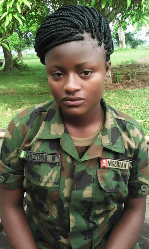 Shocking What Nigeria Female Soldier Said After A -2852