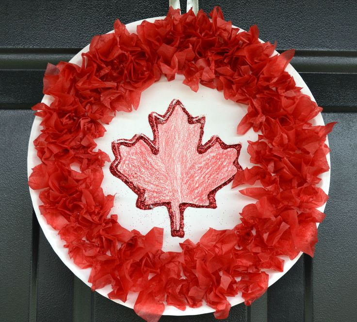 Canada Day Wreath Craft for Kids | CBC Parents