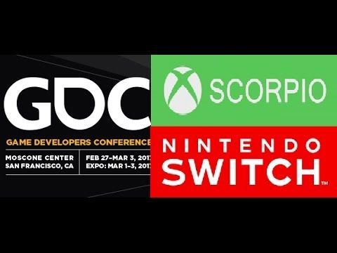 Game Developer Conference 2017 - More On Project Scorpio, VR Tech, Ninte...