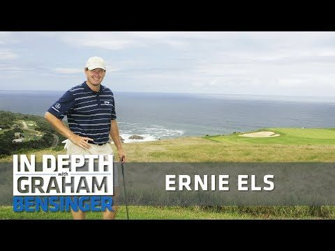 Graham Bensinger: Ernie Els: Learning course design from Jack Nicklaus