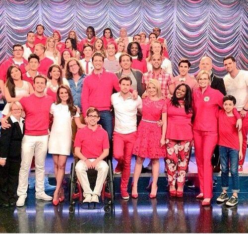 Big family ❤️ #glee