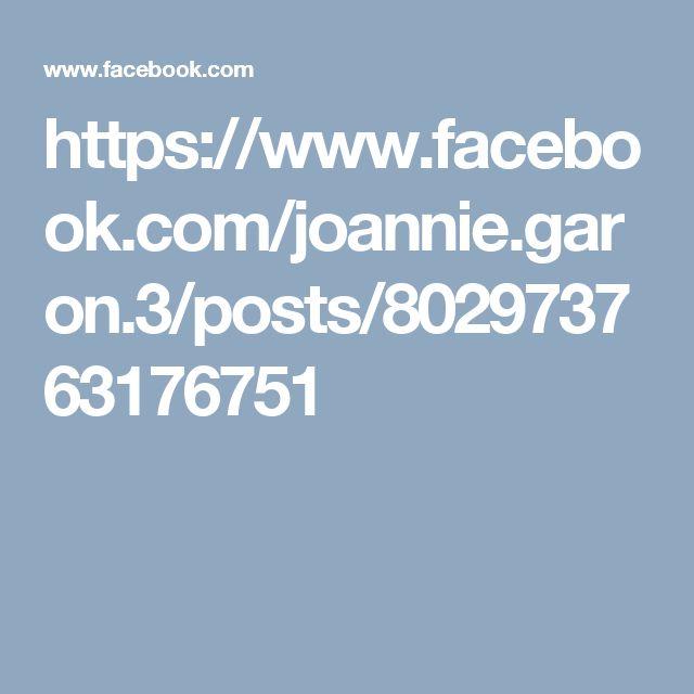 https://www.facebook.com/joannie.garon.3/posts/802973763176751