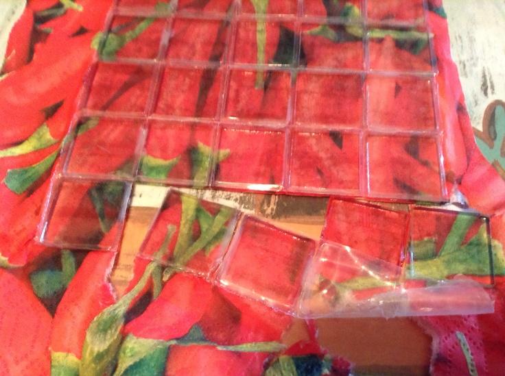 Making chili mosaics