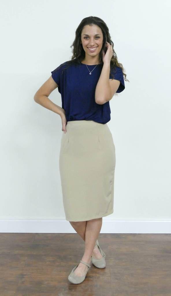 Edyn Clothing Heidi Skirt for LDS Sister Missionaries - MissionaryMall