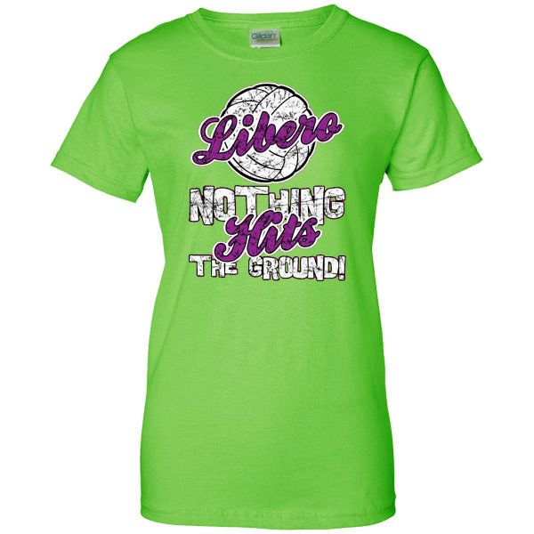 Position t shirt libero retired volleyball products for Life is good volleyball t shirt