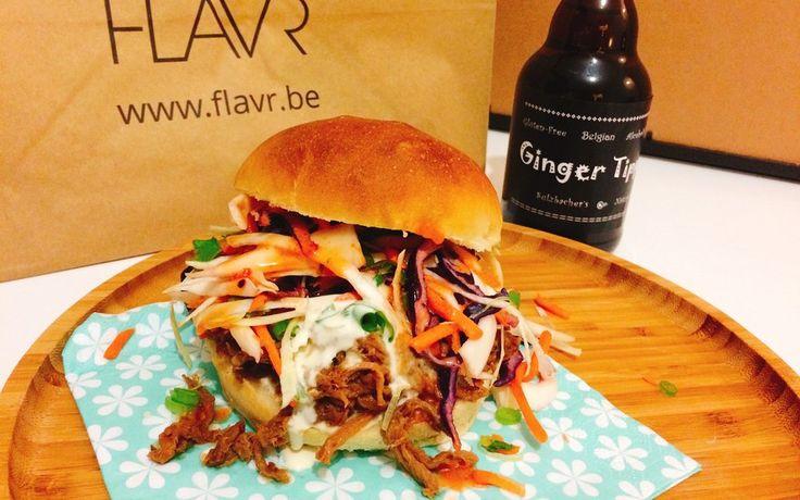 Recept: Tipple burger met pulled pork   FLAVR BLOG
