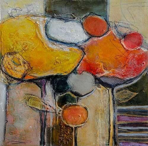 """Angela Fusenig, """"Zeitweise"""" Mit einem Klick auf 'Als Kunstkarte versenden' versenden Sie kostenlos dieses Werk Ihren Freunden und Bekannten."""