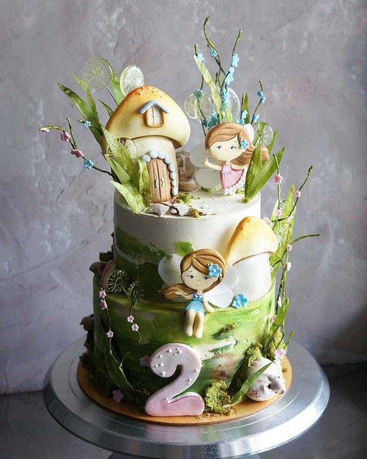 Нет описания фото. | Торт, Красивые торты, Детский торт
