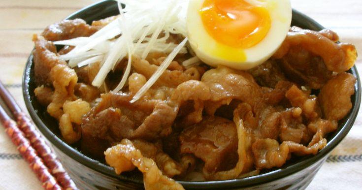 帯広豚丼~豚こまだから大盛りで! by マナっち [クックパッド] 簡単おいしいみんなのレシピが248万品