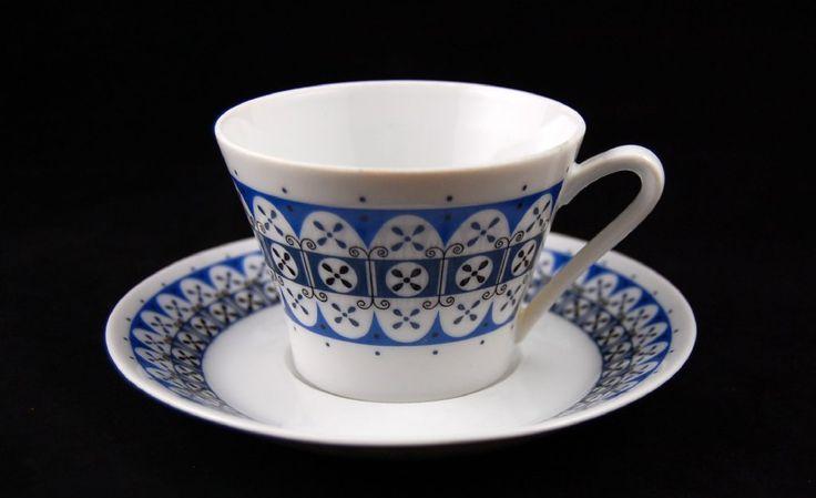 Upsala-Ekeby Karlskrona (Brita Mellander-Jungermann) kaffekopp
