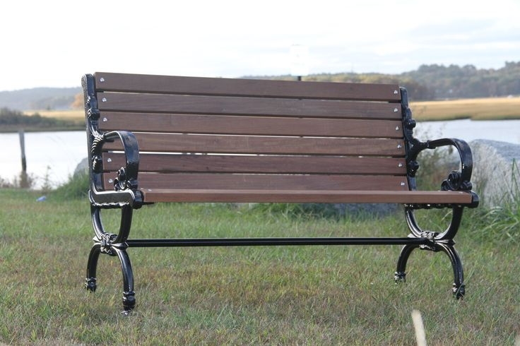 New England Park Bench - Benches Great For Restaurants and Retail locations. Commercial quality.