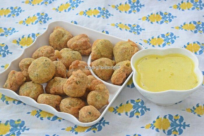 METHI NA GOTA RECIPE - KASURI METHI BHAJIYA  Watch video: https://youtu.be/XqmFRUWzU7g  Read recipe: http://www.magicofindianrasoi.com/2017/07/methi-na-gota-recipe-kasuri-methi-bhajiya.html  #gota #methi #fritters #bhajia #farsan #gujarati #snack #yummy #nomnom  #recipe #indianfood #IndianFoodBlogger #Indianfoodchannel #MagicofIndianRasoi #MOIR