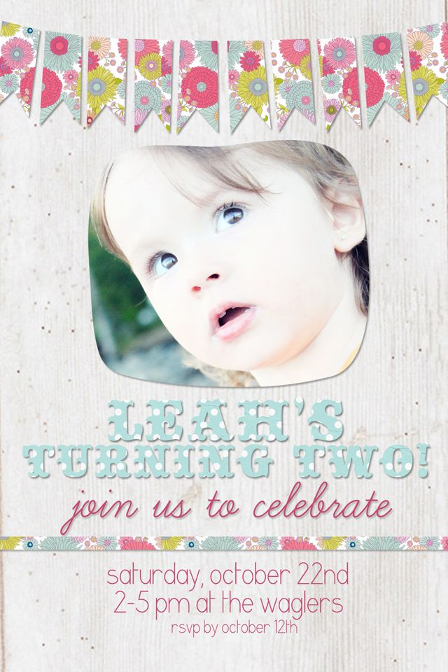 {The Ardent Sparrow}: Leah's Turning Two!
