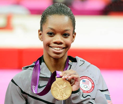 Olympians likely to cash in - Gabby Douglas, Gymnastics - History is on Douglas' side, having just become the first American woman to win both the team and all-around competitions in the same Olympics. Her games ended on a bit of a down note (eighth-place finishes in her two individual events and mini controversies about her hair and her mom's bankruptcy), but that shouldn't be enough to tarnish those