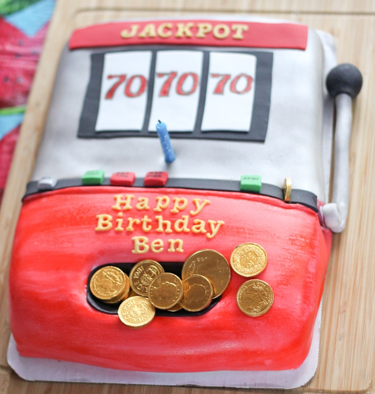 Slot Machine Cake from Foodology.