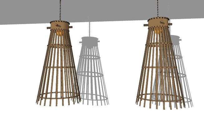 Lampu Gantung - cafe decoration - 3D Warehouse