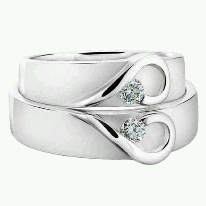 A Couples Heart Wedding Band