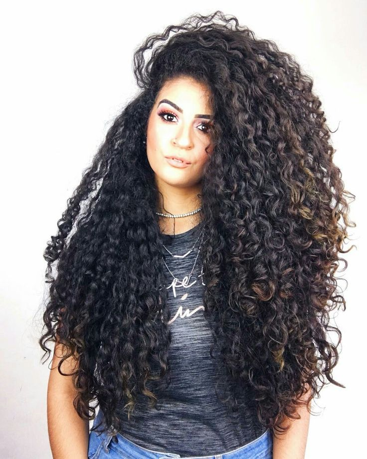 Curly Pin Hairstyles