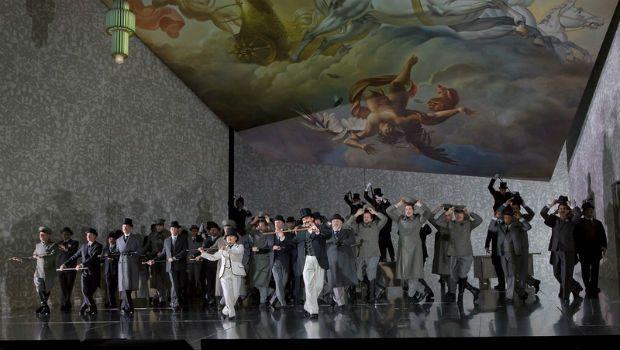 Un Ballo in Maschera   Metropolitan Opera   Set by Paul Steinberg