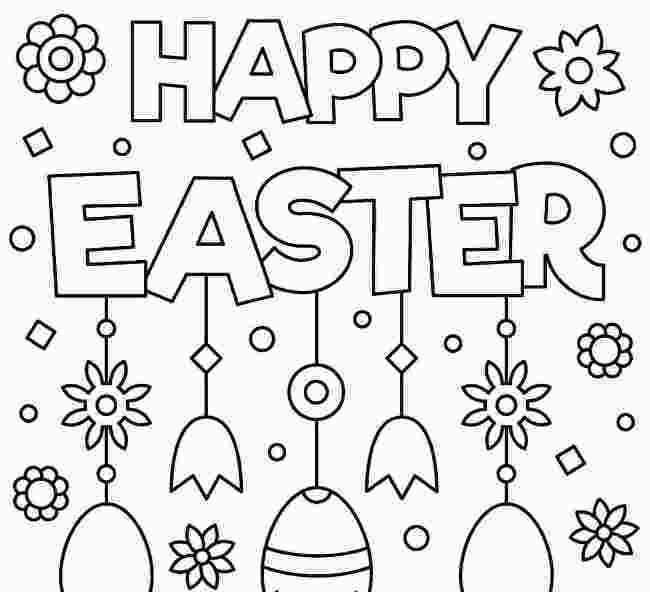 Free Online Easter Coloring Pages 2021 Easter Colouring Easter Coloring Pages Happy Easter