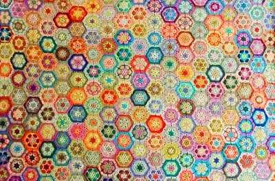 great colors - join as you go instructions on link through   African Flower Crochet Pattern