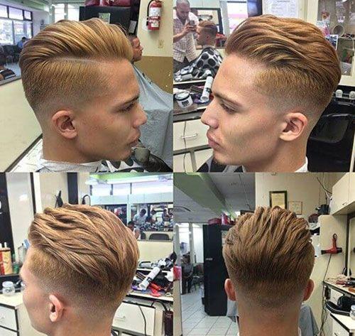 Short Sides Long Top Haircut
