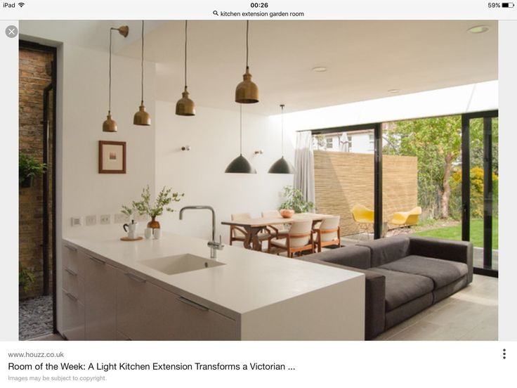 28 best Downstairs extension images on Pinterest   Cucina, House ...