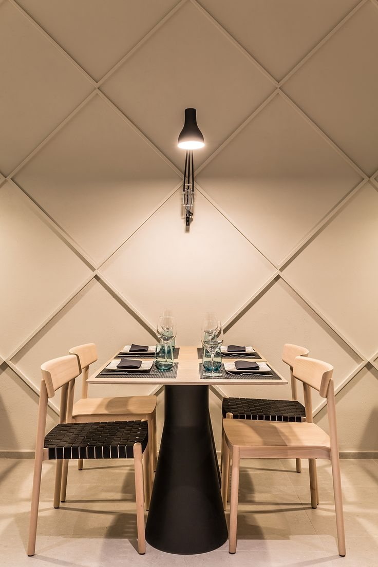 Suspended table by berstein architects - View Full Picture Gallery Of Tipics Restaurant Coffe Shop