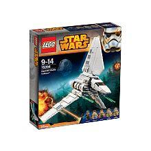 Construis la navette impériale Tydirium avec des ailes qui se replient, un train d'atterrissage, un cockpit qui s'ouvre, une trappe d'accès, des fusils à ressorts et plus encore.<br>Monte à bord de l'Imperial Shuttle Tydirium volé, positionne les ailes en mode vol et fonce vers Endor avec Yan Solo, la princesse Leia, Chewbacca et les soldats rebelles d'Endor. Ce vaisseau LEGO® Star Wars impressionnant comprend des ailes qui se replient pour les modes vol et atterrissage, un train…