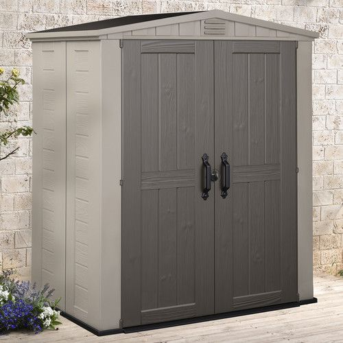Found it at Wayfair - Factor 6 Ft. W x 3 Ft. D Resin Storage Shed