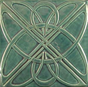 For the hearth? Art deco tile. http://earthsongtiles.com/artdeco-knot-bluegrass.jpg