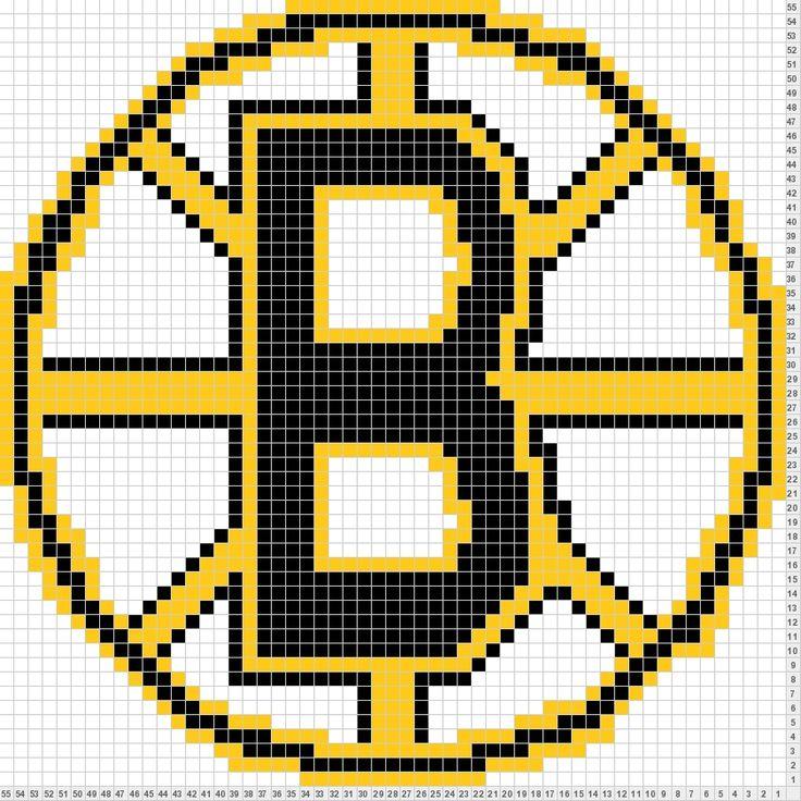 Boston Bruins Logo Knitting Charts Boston Bruins Logo
