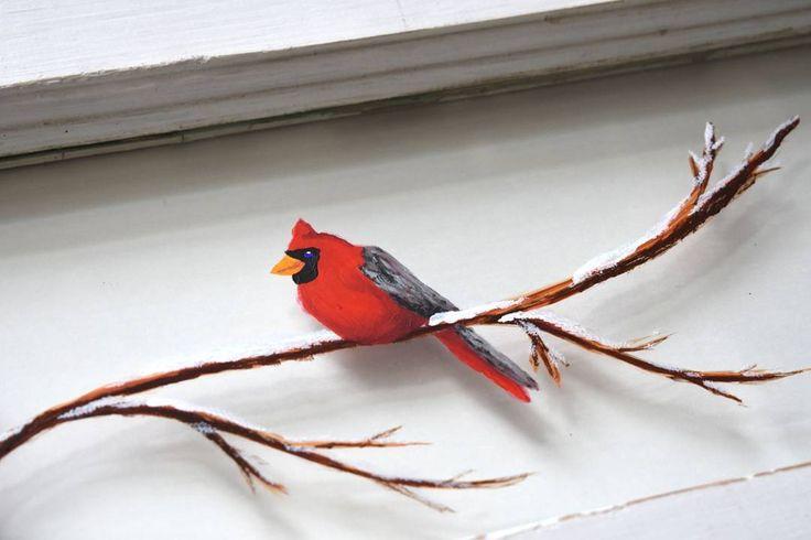 Cheeky little grin!      #snow #art #cardinal #birdsinatree #Christmas #Christmasmarketprep #snowday #painting #vintagewindow #restoration #handpainted #rustic #vintage #etsy #reclaimed #handcrafted #yycmaker #Wheatlandmaker #yyc #okotoks #Wheatland #custom #creative #unique #homedecor #shoplocal #supportlocalbiz #homesweethome #HistorymeetHandmade