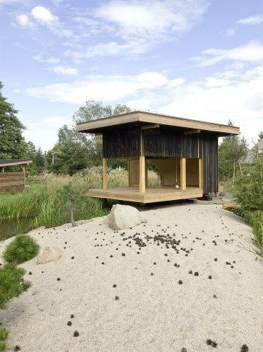 Black Teahouse in Ceská Lípa, Czech Republic by A1Architects « Awesome Architecture