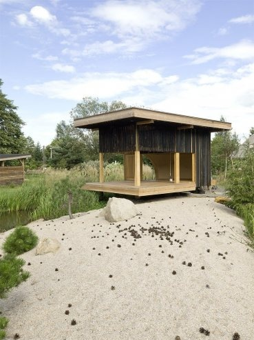Black Teahouse in Ceská Lípa, Czech Republic by A1Architects « Awesome Architecture
