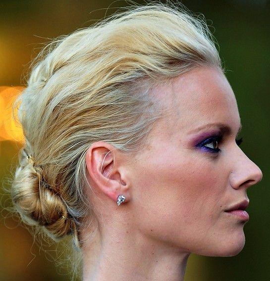 Franziska Knuppe Chignon Updo Hairstyle