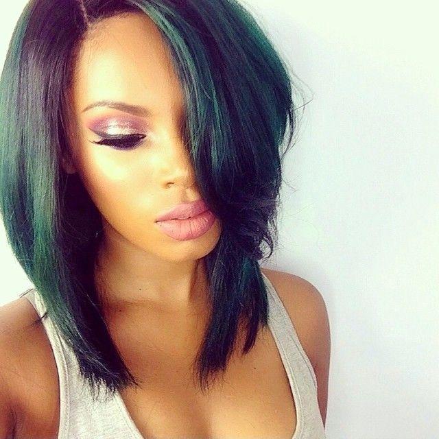 Peruvian Straight Virgin Hair/Human Hair Bob Wigs/Cute Short HairCuts/Full Lace Wigs