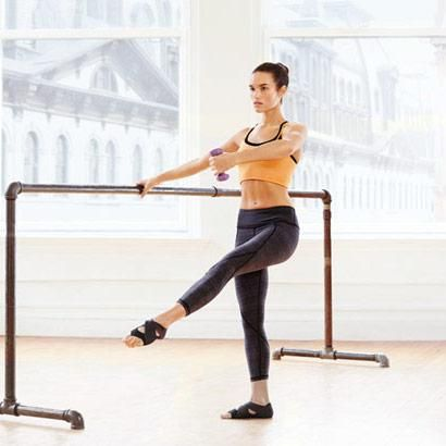 Ballet-Inspired Moves | Lunge to Dégagé: Works arms, core, obliques
