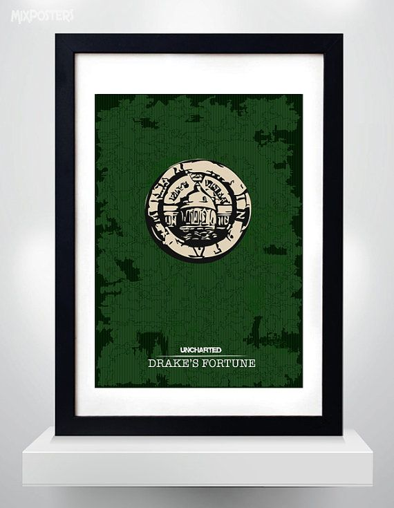 UNCHARTED DRAKE'S FORTUNE Wall Art Print Game Poster by MixPosters, $18.00