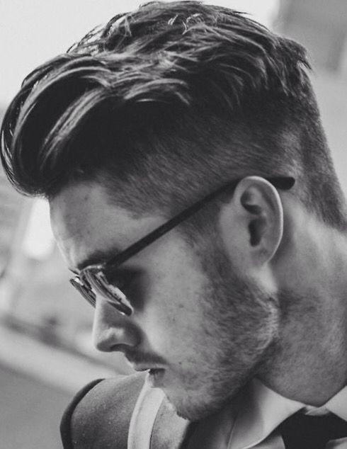 Mens Hair, Classic Taper.