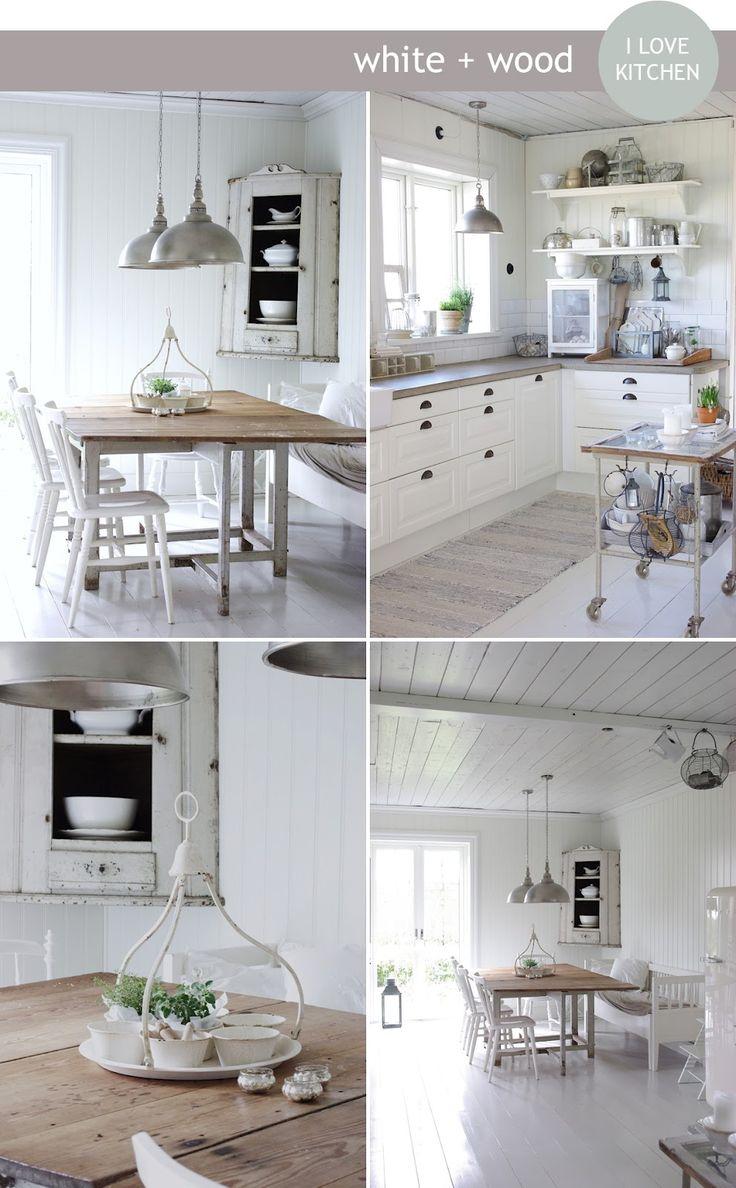 Oltre 25 fantastiche idee su cucina shabby chic su - Shabby chic interiors a casa di federica ...