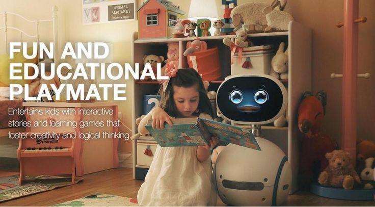 """Asus заявил о разработке собственного домашнего робота-помощника Zenbo. Большинство из его """"фишек"""" давно известны, однако набор их впечатляет: здесь и распознавание лиц, и игры с детьми, и """"чтение"""" сказок, и поиск в Интернете и помощь при приготовлении блюд (конечно, не буквальная, но подсказать рецепт машина сможет). Управляется Zenbo голосовыми командами, устройство может фотографировать, звонить, взаимодействовать с системами """"Умного дома"""" и обеспечивать его безопасность, пока хозяина…"""