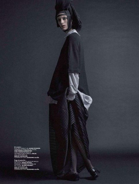 Franzi Mueller by Thomas Goldblum for Jalouse February 2015 - Fashion Copious
