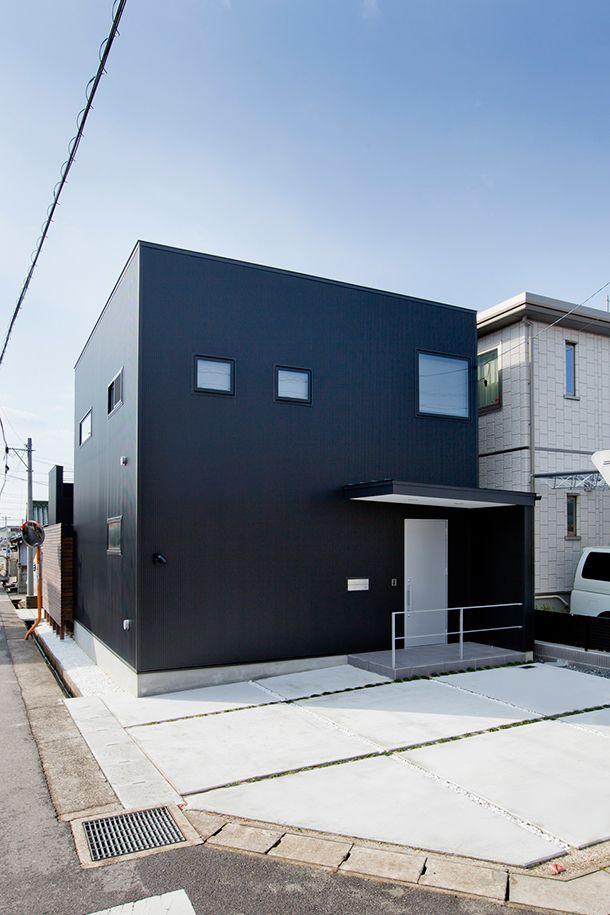 黒/光の住宅・間取り(愛知県北名古屋市) | 注文住宅なら建築設計事務所 フリーダムアーキテクツデザイン