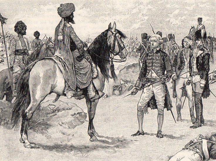 Surrender of Baillie to Hyder Ali