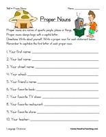 grammar homework ideas