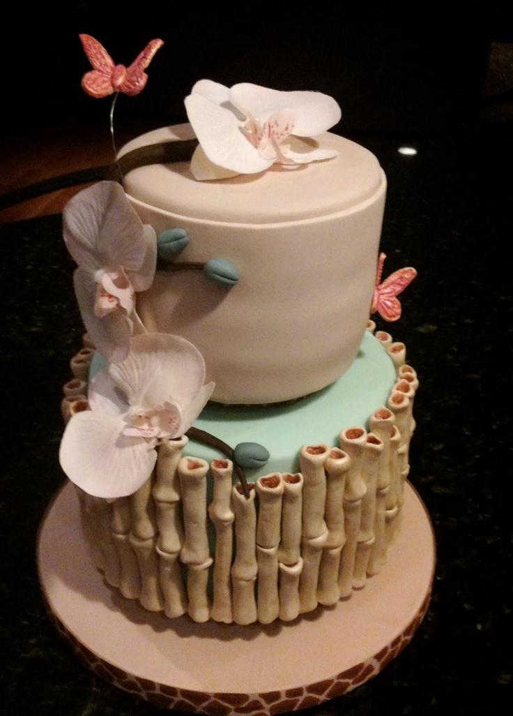 bamboo cake