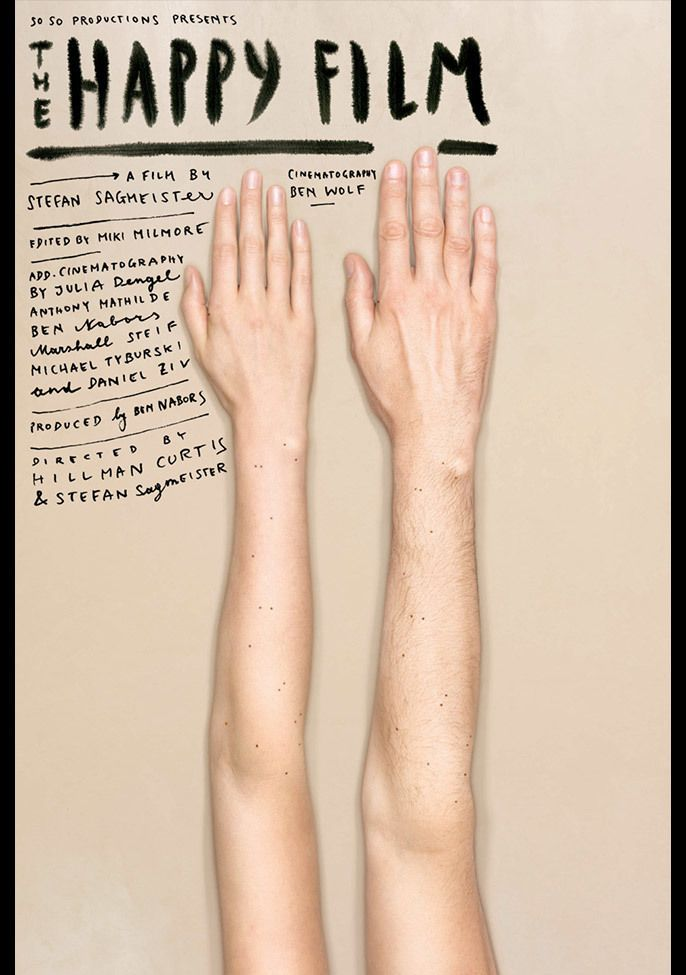 Happy Film Poster, Hands