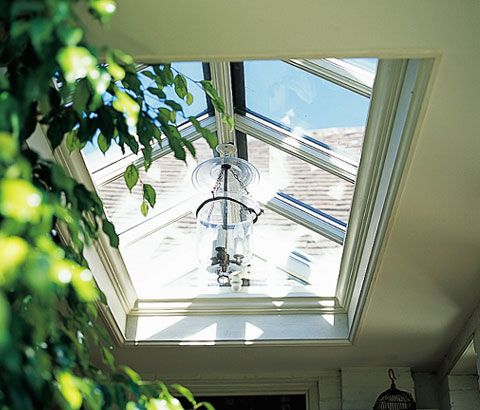 simple roof lantern for a pool?