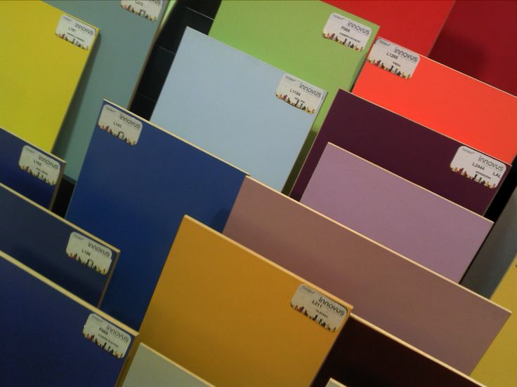 A world of colour samples! Order yours via our website http://www.innovus.co/